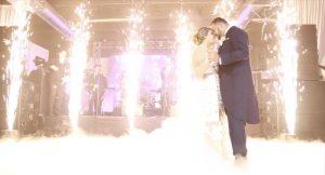 Fuego frio para bodas y eventos en Malaga